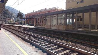 Unterwegs mit dem Zug