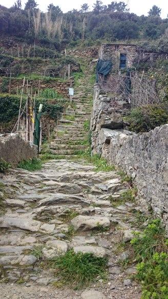 Aufstieg Riomaggiore