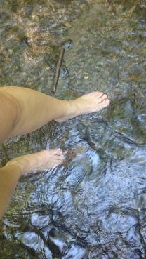 Wassertreten wunderbar