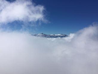 Blick zu den Julischen Alpen