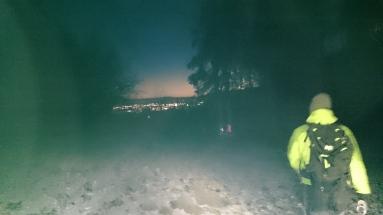 Tagesanbruch über Klagenfurt