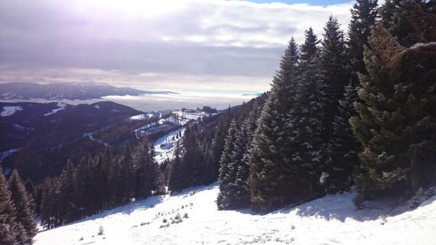 Blick Richtung Wolfsberg