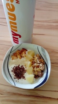 Frühstück nach dem Morgenlauf