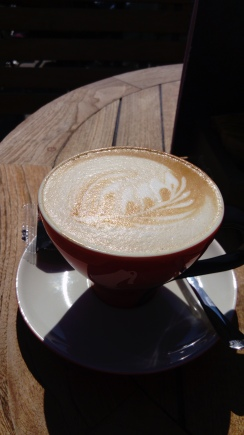 Cappuccino in Piran