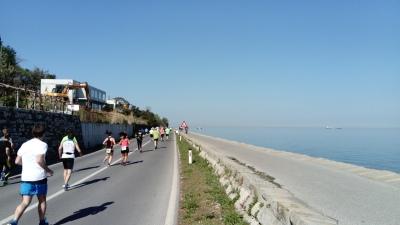 Die ersten Kilometer
