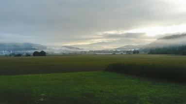 Morgenlauf in der Heimat