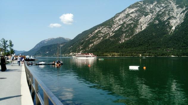 Bootfahren am Achensee
