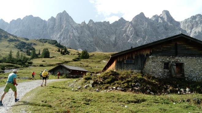 Richtung Falkenhütte