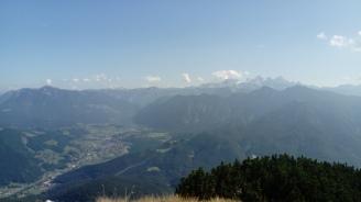 Hallstätter See und Dachstein