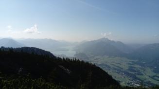 Wolfgangsee und Schafberg