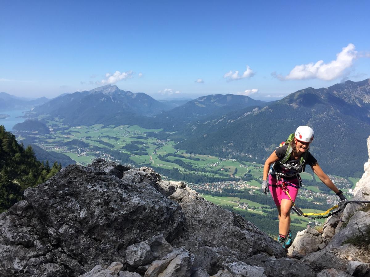 Klettersteig Katrin : Katrin klettersteig in bad ischl u2013 trailbirdie