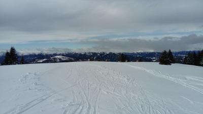 Panorama am Gipfel