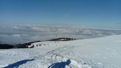 Blick aufs Nebelmeer