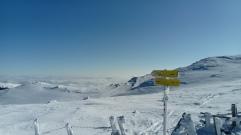Eisernes Kreuz, Aussicht Richtung Lavanttal