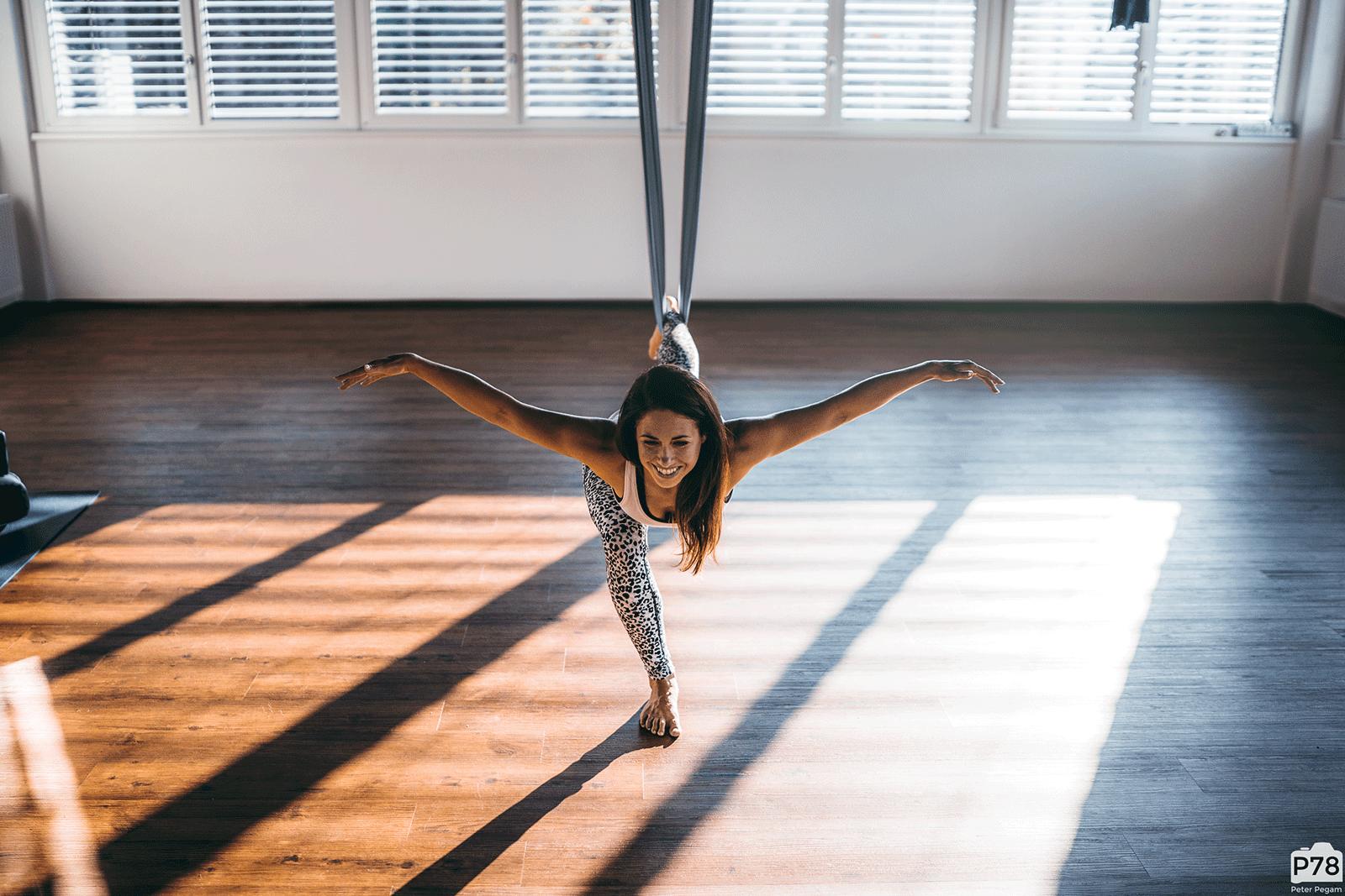 Aerial Yoga by Barbara Foster