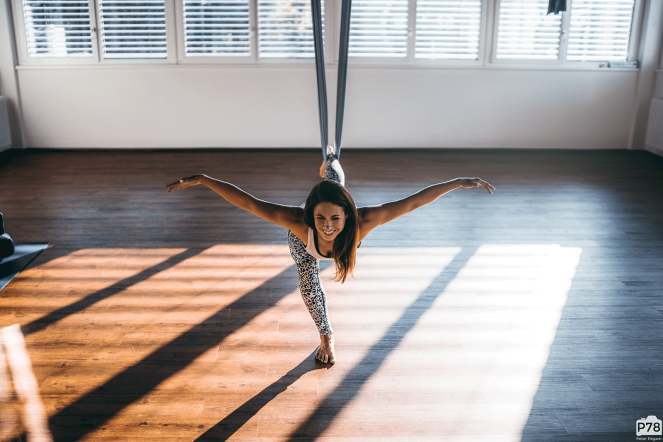 Aerial Yoga by Barbara Foster