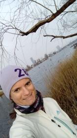 Morgenlauf an der Alten Donau