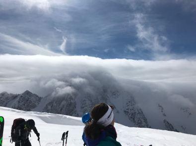 Wolken übern Hochstuhl